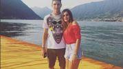 Mattia Caldara e Giulia Ghisalberti (Instagram)
