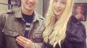Danilo Cataldi, del Genoa, con Elisa Liberati (Instagram)