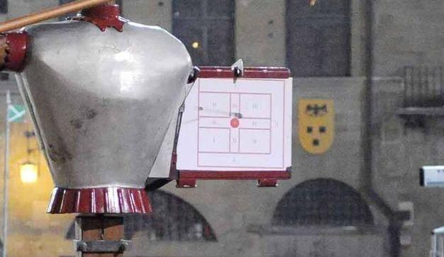 Primo piano del punteggio di Andrea Vernaccini di Porta del Foro (Tavanti)