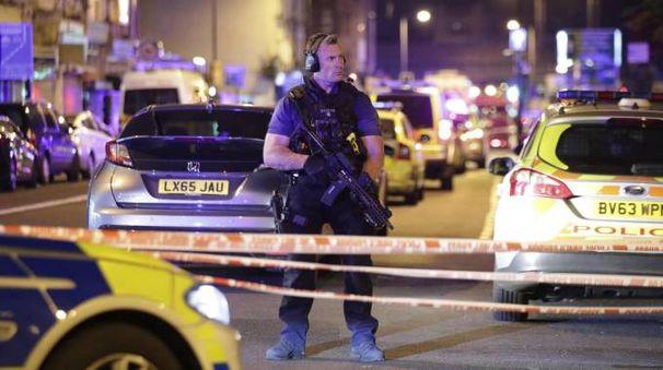 Attacco contro una moschea a Finsbury Park (Ansa)