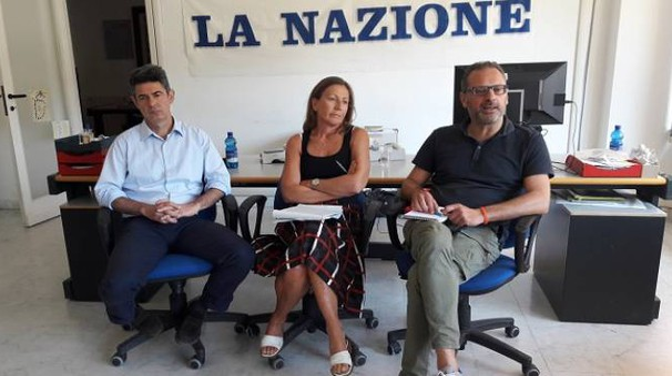 Da sinistra: De Pasquale, Lorenzi e Zanetti