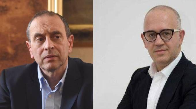 Tommaso Corvatta e Fabrizio Ciarapica