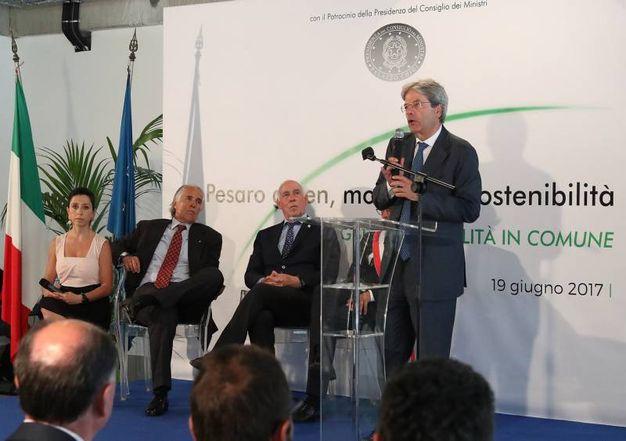 Il discorso del premier Gentiloni (Fotoprint)