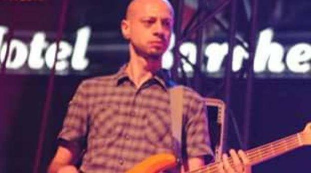 Giuliano Verganti, 39 anni, musicista