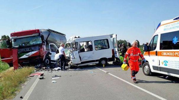 Incidente a Spessa, due morti (Torres)
