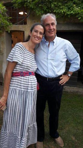 Luca Amedeo Ramella e la figlia