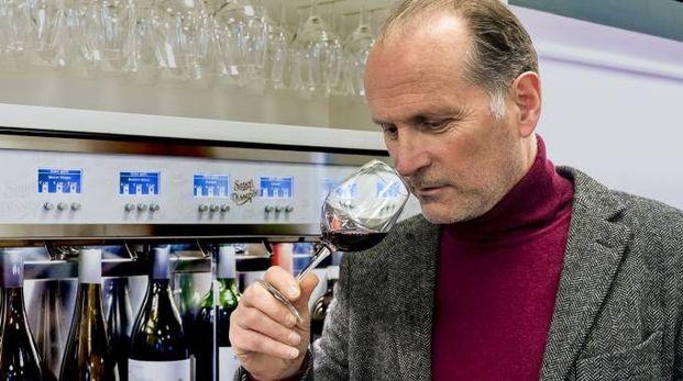 Riccardo Gosi - Amministratore Delegato e ideatore del dispenser della Wineemotion