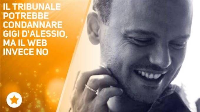 Gigi D'Alessio rischia grosso, ma i fan sono con lui