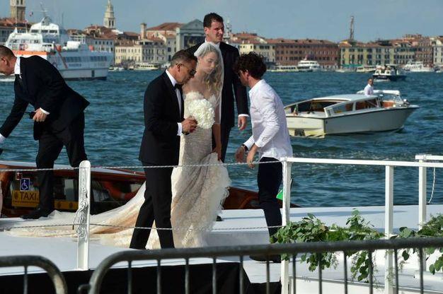 L'arrivo della sposa (Lapresse)