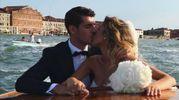 Gli sposi (Instagram)