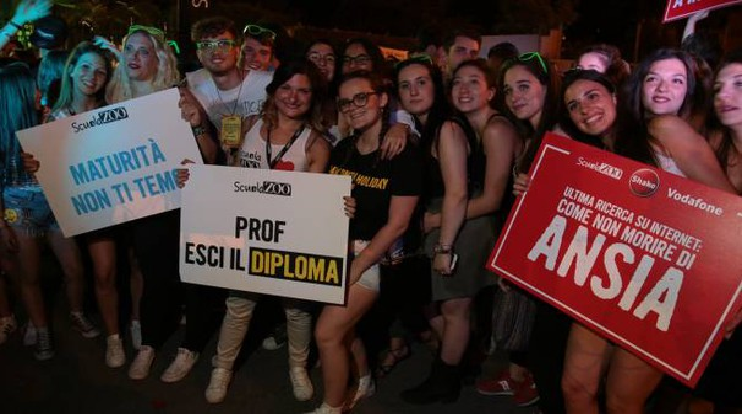 Un momento della festa di ScuolaZoo (Giuseppe Cabras / New Press Photo)