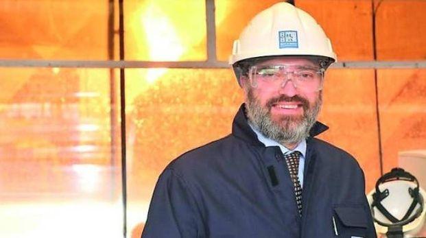 L'amministratore delegato di Ast, Massimiliano Burelli