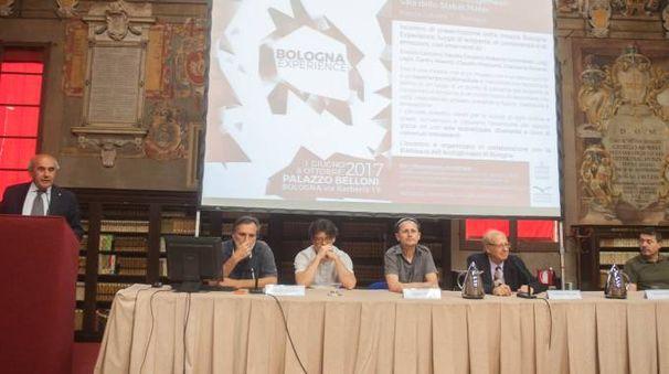 Bologna Experience, l'open day nella biblioteca dell'Archiginnasio (foto Schicchi)