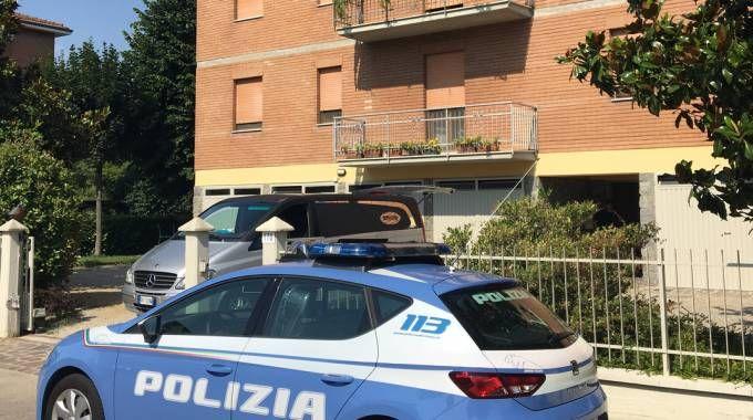 La palazzina dove è stato commesso l'omicidio in via Mare Adriatico a Modena(Foto Fiocchi)