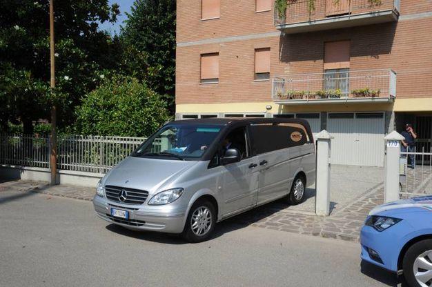 L'omicidio è avvenuto in via Mare Adriatico (Foto Fiocchi)