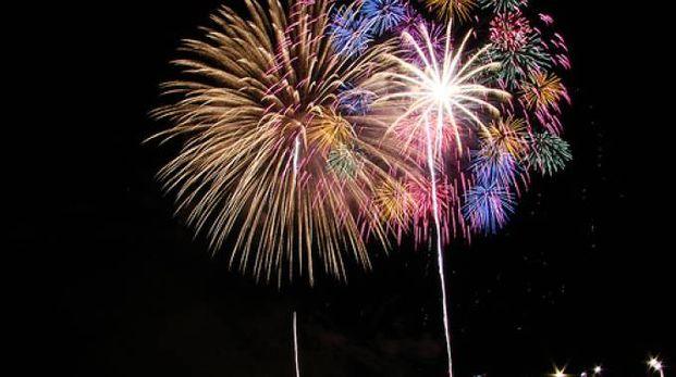 I fuochi d'artificio a Lecco