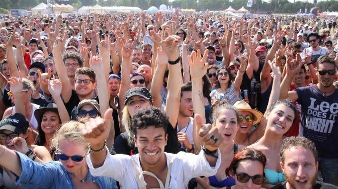 Il pubblico alla Visarno Arena (Foto archivio Marco Mori / New Press Photo)