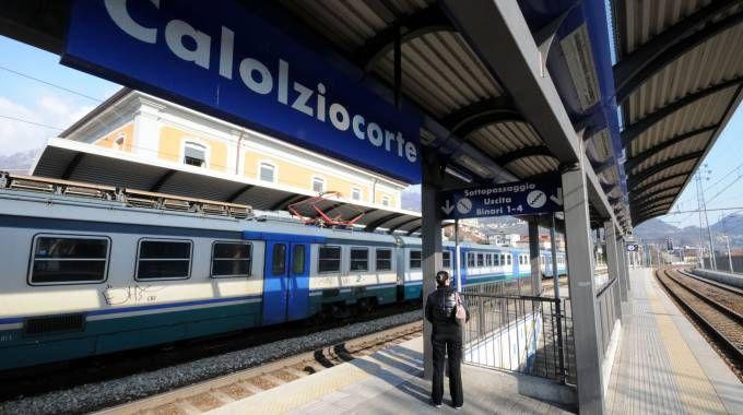 La stazione di Calolziocorte