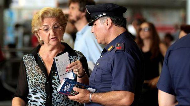 Anche i viaggiatori chiedono la presenza delle forze dell'ordine
