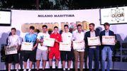I premiati di Ancona e Pesaro (foto Zani)