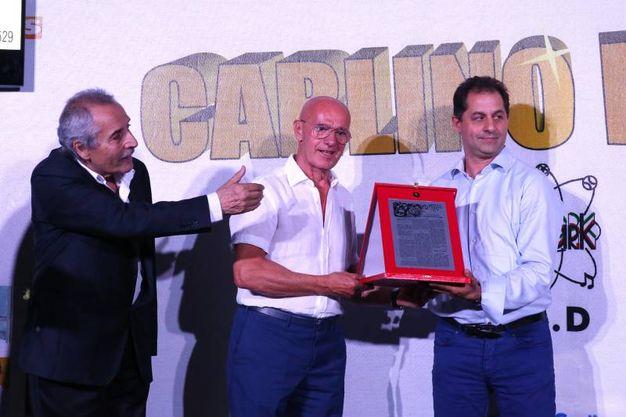 Un riconoscimento alla Spal promossa in serie A (foto Zani)