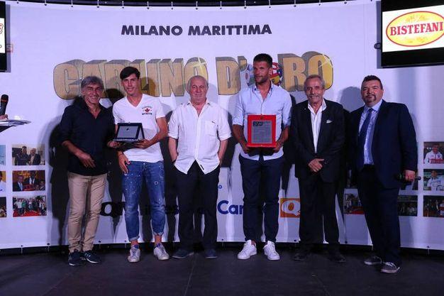 Galderisi, Bisoli, Mambelli e Facchetti (foto Zani)