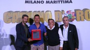 Un premio per Lapadula (foto Zani)