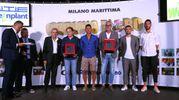 Longhi, Lapadula, Tacconi, Di Francesco e Valdifiori (foto Zani)