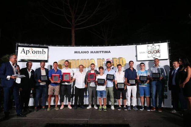 I vincitori per categorie (foto Zani)