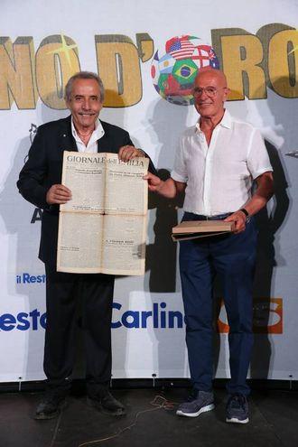 Baldassari e Arrigo Sacchi (foto Zani)