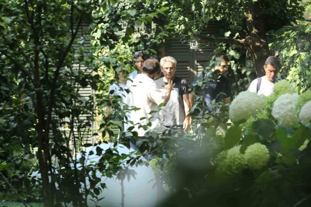 La lavorazione del film a Reggio, Correggio e Novellara (foto Artioli)