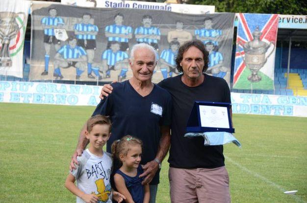 Gilberto Martignoni con Fabio Corti / Cardini