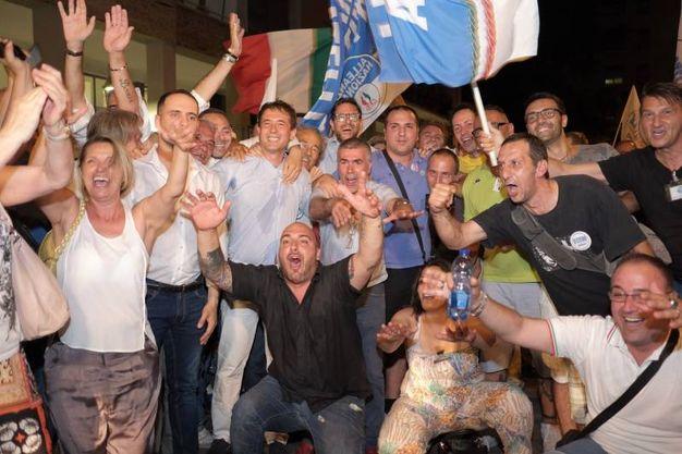 La coalizione di centrodestra, con l'aggiunta del Pli e delle quattro liste del polo civico, ha espugnato l'ormai ex Stalingrado D'Italia (Spf)