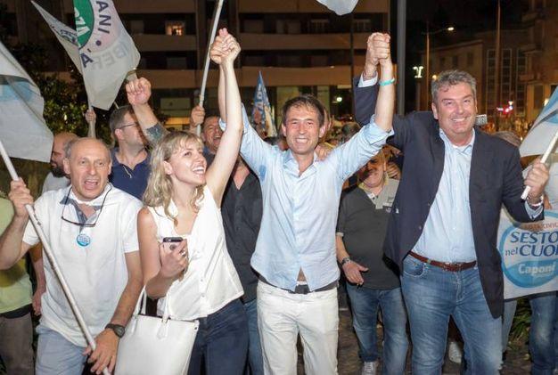 La gioia del nuovo sindaco di Sesto (Spf)
