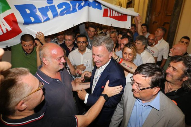 Festa per il centrodestra a Monza (Radaelli)