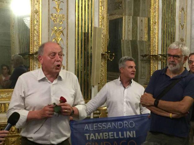 Il ritorno  di Tambellini in palazzo comunale