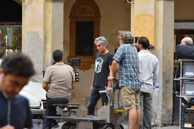 Ligabue qui in versione regista (foto Artioli)