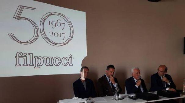 La presentazione dei 50 anni di Filpucci