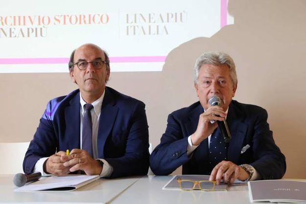 """Alessandro Bastagli presenta """"Talents Lineapiù"""" con Raffaello Napoleone (New Press Photo)"""