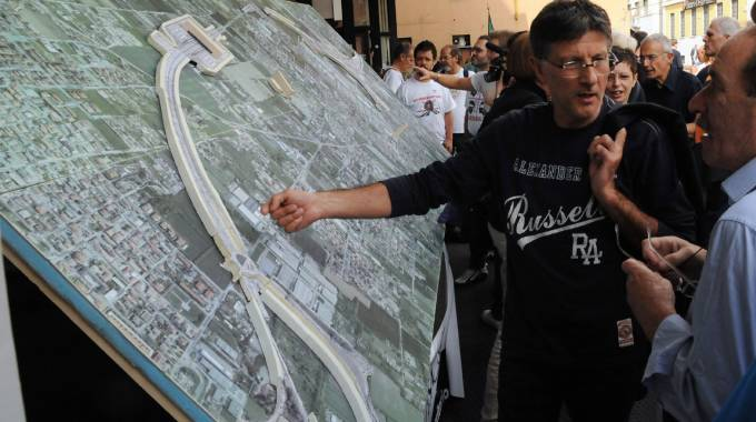 Proteste contro il progetto Pedemontana