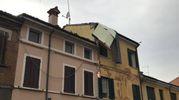 Danni alla copertura di un palazzo