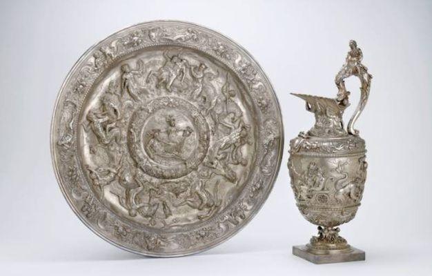 1619 Argentiere fiammingo attivo a Genova Bacile e mesciroba
