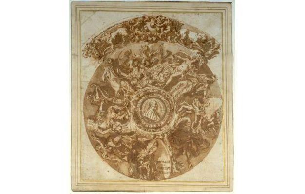 1682 Trionfo di Cosimo I Carlo Maratti (Camerano 1625 - Roma 1713)