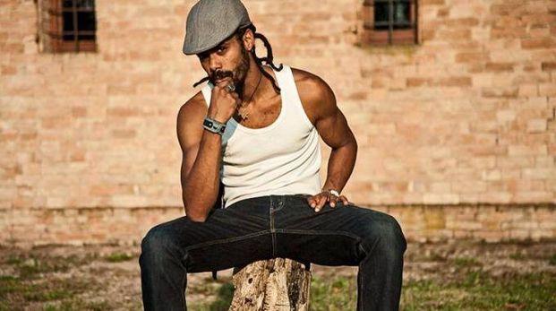 Desio, il cantante reggae italo nigeriano Lion D al Parco Tittoni