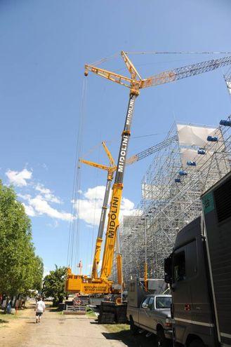 Sempre in centro ci saranno dei megaschermi che trasmettono il concerto (foto Fiocchi)