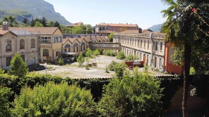 L'area dell'ex fabbrica di lampadine Leuci