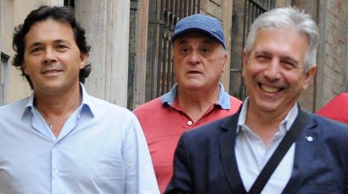 Un dirigente della Mediterranea Metalli, l'ex amministratore unico Claudio Liotti e l'avvocato Marinelli