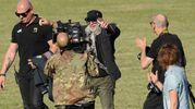 Modena, Vasco Rossi arriva al concertone (Foto Fiocchi)