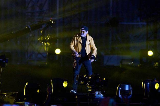 Il Kom sul palco (foto Ansa)