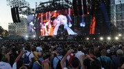 Il palco di 150 metri (Foto Fiocchi)
